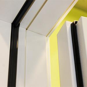 Резиновый двойной контур уплотнения деревянной входной двери