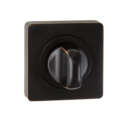 Завертка Puerto BK AL 02 ABB бронза чёрная с патиной