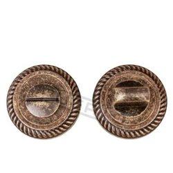Завертка Puerto BK AL 17 MAB бронза античная матовая