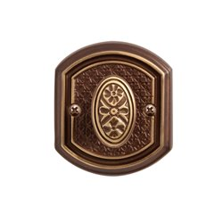 Завертка Val de fiori Ризарди бронза шоколадная BK 71 CB