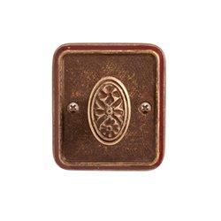 Завертка Val de fiori Николь бронза состаренная с эмалью BK 72 OB/BRI