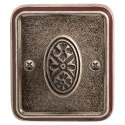 Завертка Val de fiori Николь серебро античное с эмалью BK 72 AI/WBR