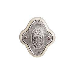 Завертка Val de fiori Амуаж латунь блестящая с эмалью BK 73 PB/I