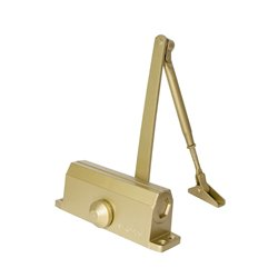 Доводчик дверной Trodos TD 40 золото