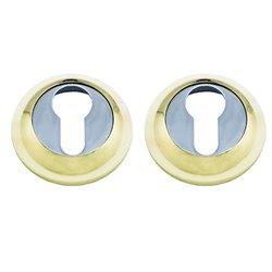 Накладка Marlok A54-CL PB/CP золото/хром