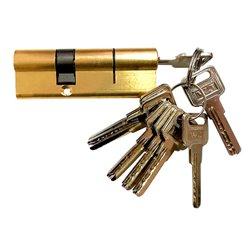 Цилиндровый механизм Marlok с монтажными ключами латунь 024720
