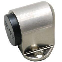 Ограничитель дверной Ренц напольный DS 31 SN никель матовый