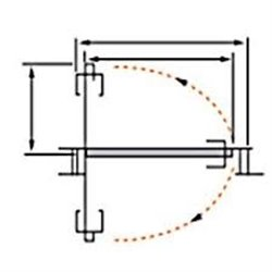 Ось Morelli свинг-системы SWING ROD 211.6