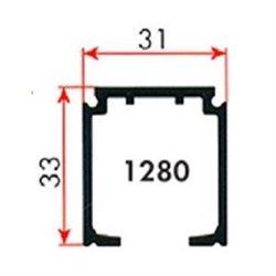 Направляющий профиль Morelli 3м TRACK 1280/300