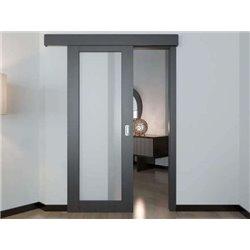 Комплект для одностворчатой двери Morelli от 500 до 1000мм, стопор