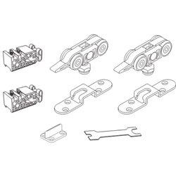 Комплект роликов 4 колеса Morelli STABLE SET V-1 60KG