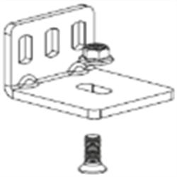 Уголок для настенного крепления направляющего профиля Morelli ART.127/D/V