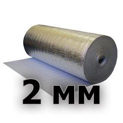 Подложка изодом вспененный полиэтилен + фольга алюминиевая 2мм