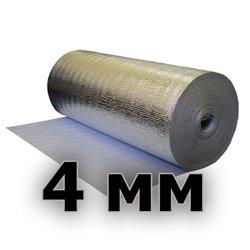 Подложка изодом вспененный полиэтилен + фольга алюминиевая 4мм