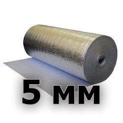 Подложка изодом вспененный полиэтилен + фольга алюминиевая 5мм