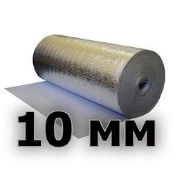 Подложка изодом вспененный полиэтилен + фольга алюминиевая 10мм