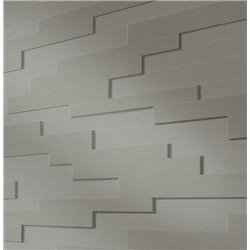 Панели стеновые Meister Stainless steel metallic