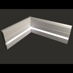 Плинтус напольный для светодиодной подсветки PN 120 led