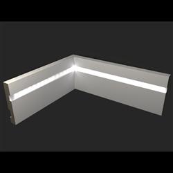 Плинтус напольный для светодиодной подсветки PN 101 led