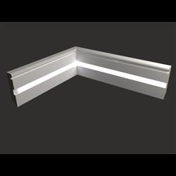Плинтус напольный для светодиодной подсветки PN 030 led