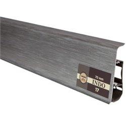 ПЛИНТУС ARBITON INDO 70мм 17 аллюминиум