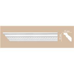 Плинтус потолочный с рисунком DECOMASTER 95348F гибкий