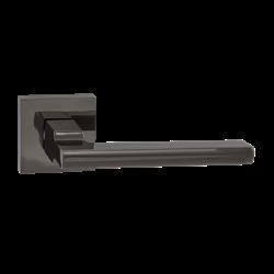 Ручка дверная Puerto, черный никель INAL 514-03 BN