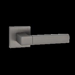 Ручка дверная Puerto, матовый черный никель INAL 521-03 MBN