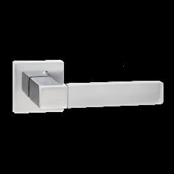 Ручка дверная Puerto, хром матовый/хром блестящий INAL 521-03 SC/CP