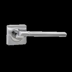 Ручка дверная Puerto, хром матовый/хром блестящий INAL 522-02 SC/CP