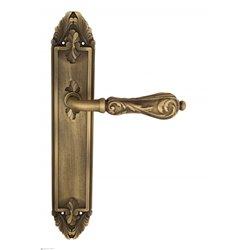 """Дверная ручка Venezia """"MONTE CRISTO"""" на планке PL90 матовая бронза"""