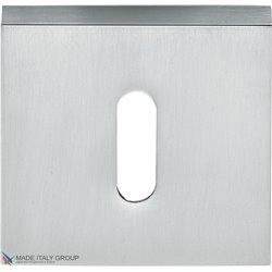 Накладка под ключ буратино на квадратном основании COLOMBO MM13BB-CM матовый хром