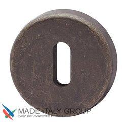 Накладка под ключ буратино на круглом основании COLOMBO CD1063G-BA античная бронза