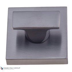 Фиксатор поворотный на квадратном основании COLOMBO MM29BZG6-GM матовый графит