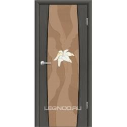 RADA Межкомнатные двери Лоренцо исп2 ДО4 Серый дуб