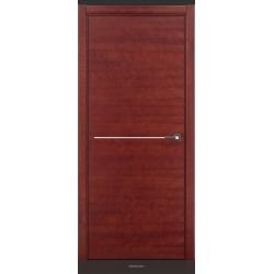 RADA Межкомнатные двери Marco исполнение 2 ДГ Красное дерево