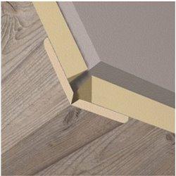 Уголки для стеновых панелей KRONOWALL 3D 8572 2600х22х22(K047)