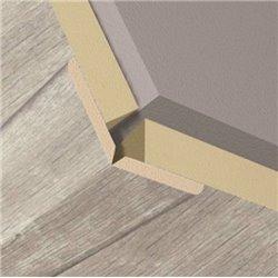 Уголки для стеновых панелей KRONOWALL 3D L004 2600х22х22(K060)