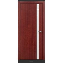 RADA Межкомнатные двери Marco исполнение 1 ДО11 Красное дерево