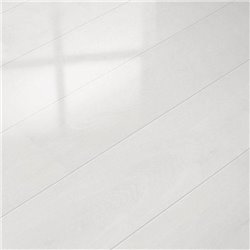 Глянцевый ламинат elesgo glamour life - арктический белый 774731