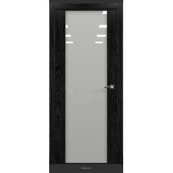 RADA Межкомнатные двери Marco исполнение 2 ДО1 Noir - (Черная эмаль)