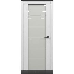 RADA Межкомнатные двери Marco исполнение 2 ДО9 Blanc - (Белая эмаль)