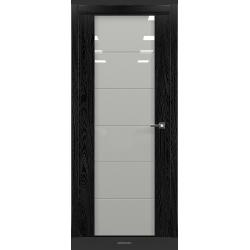 RADA Межкомнатные двери Marco исполнение 2 ДО9 Noir - (Черная эмаль)