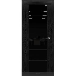 RADA Межкомнатные двери Marco исполнение 2 ДО10 Noir - (Черная эмаль)