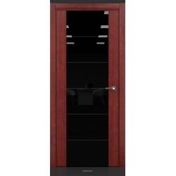 RADA Межкомнатные двери Marco исполнение 2 ДО10 Красное дерево