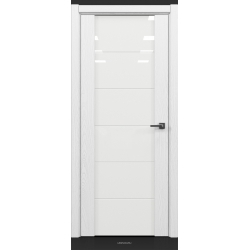 RADA Межкомнатные двери Marco исполнение 2 ДО12 Blanc - (Белая эмаль)