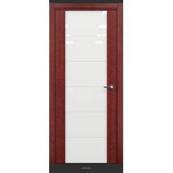 RADA Межкомнатные двери Marco исполнение 2 ДО12 Красное дерево