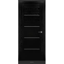 RADA Межкомнатные двери Bruno исполнение 1 ДГ Noir - (Черная эмаль)