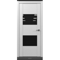 RADA Межкомнатные двери Bruno исполнение 1 ДО2 Blanc - (Белая эмаль)