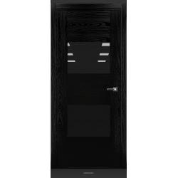 RADA Межкомнатные двери Bruno исполнение 1 ДО2 Noir - (Черная эмаль)